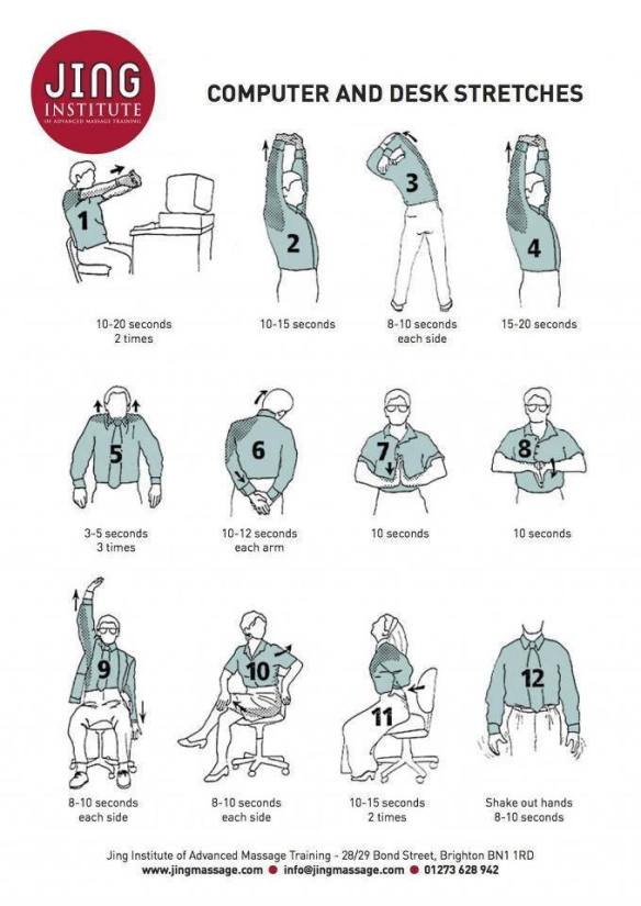 Office stretches